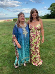 Helen Hilliard and me at Beaulieu